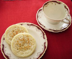 Stop by for a cup and some crumpets