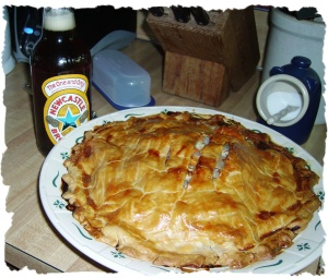Weird Aboriginal Cornish Pastie Pie