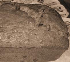 Banana bread like it was when dinosaurs roamed the earth