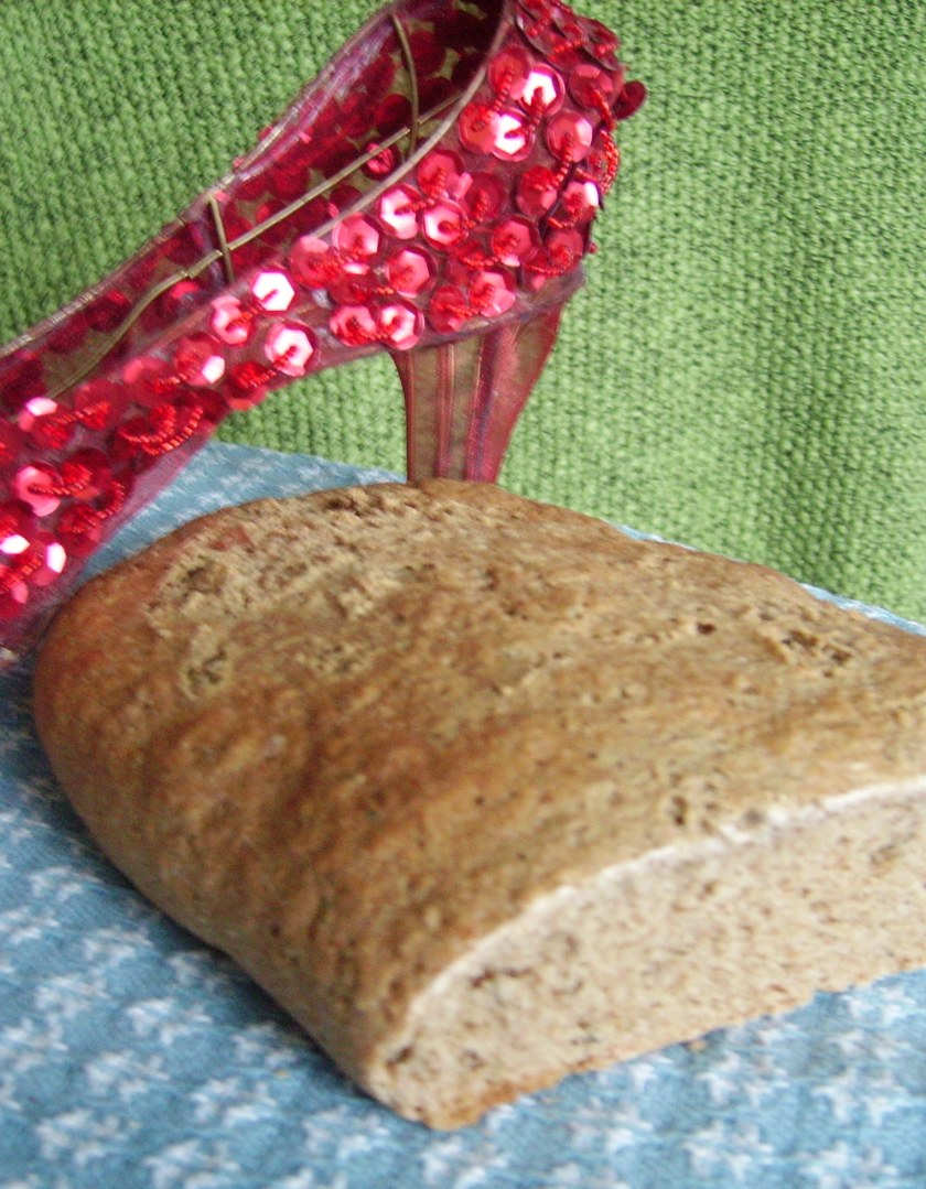 Lime Green Dill Rye Bread